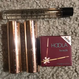makeup bundle with color pop, benefit, jimmy choo